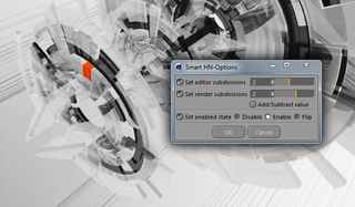 Smart HN-Options - Cinema 4D Python CommandData Plugin Template