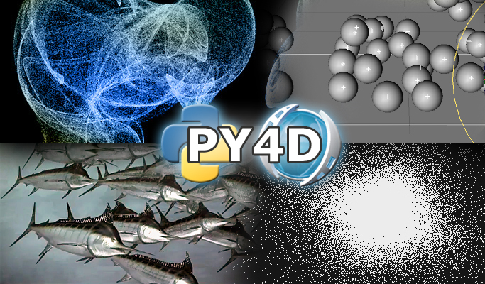 Py4D Examples - particle party
