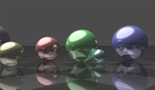 A raytracer in Python for Cinema 4D